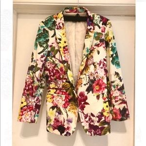 Guess by Marciano Floral Blazer